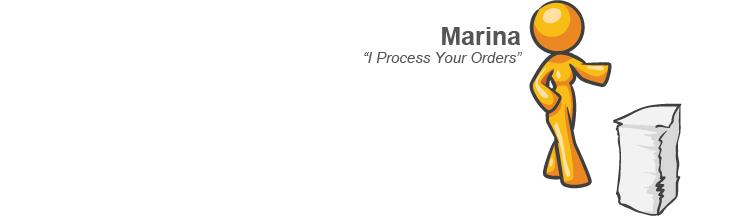 Marina - I Process Your Orders